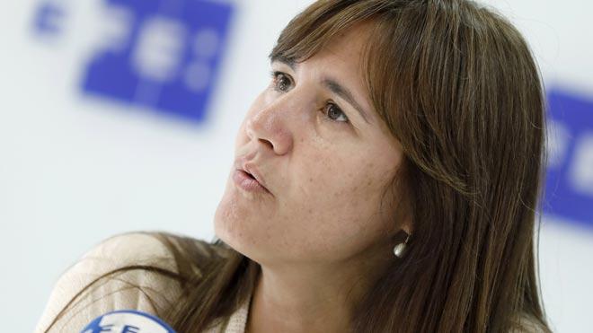 Laura Borràs (JxCat) tiende la mano a Pedro Sánchez para su investidura si se abre a hablar.