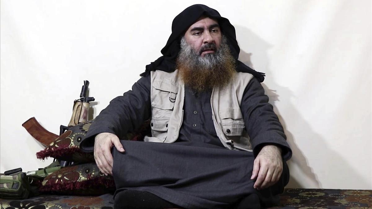 El líder de Estado Islámico, Abu Bakr al Bagdadi.