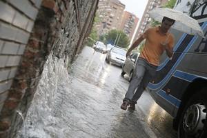 Se pronostican lluvias en gran parte de la península.