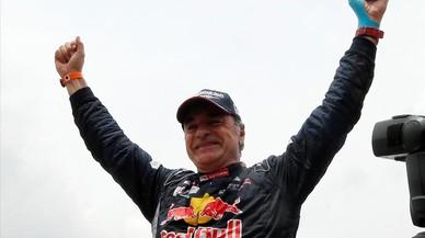 """Carlos Sainz: """"Més que la victòria, m'encanta continuar sent ràpid als 55"""""""