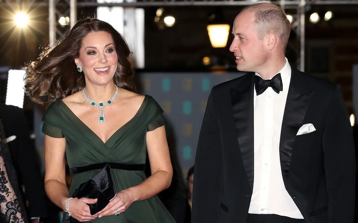 Kate Middleton y Guillermo de Inglaterra.