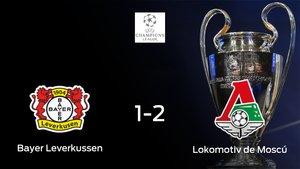 El Lokomotiv Moscú suma tres puntos a su casillero frente al Bayer Leverkusen (1-2)