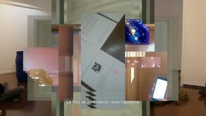 Uno de los trabajos deAriadna Guiteras que forman parte de Produir, produir, produï (t), la exposición que abre el Loop.