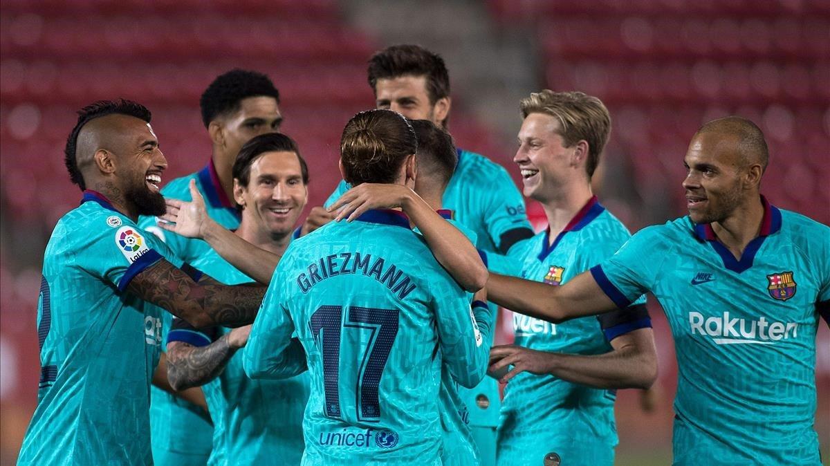 El Barça se estrena con goleada ante el Mallorca