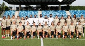 El Madrid femenino posa en Valdebebas para la foto oficial