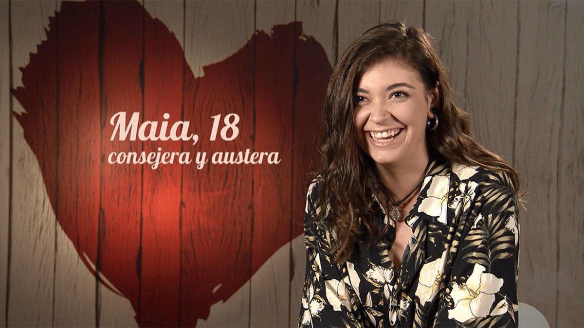 Maia en 'First Dates'.