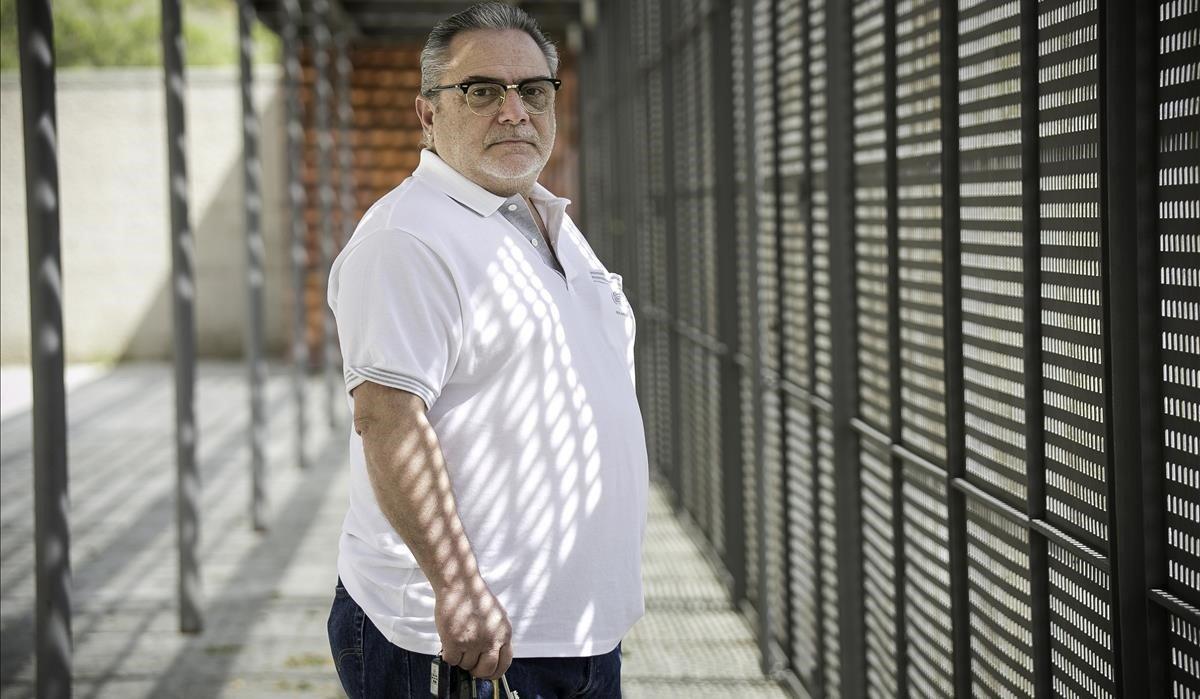Manuel de Grau, trabajador autónomo del sector de la construcción.