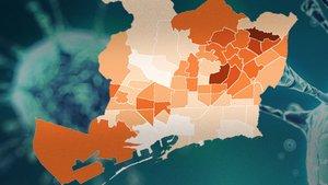 MAPA | Coronavirus a Barcelona: els casos, barri a barri