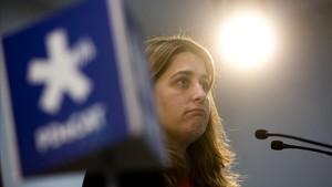 Marta Pascal, coordinadora general del PDECat