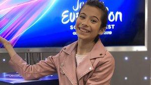 """Melani regresa a España tras Eurovisión Junior: """"He cumplido mi sueño"""""""