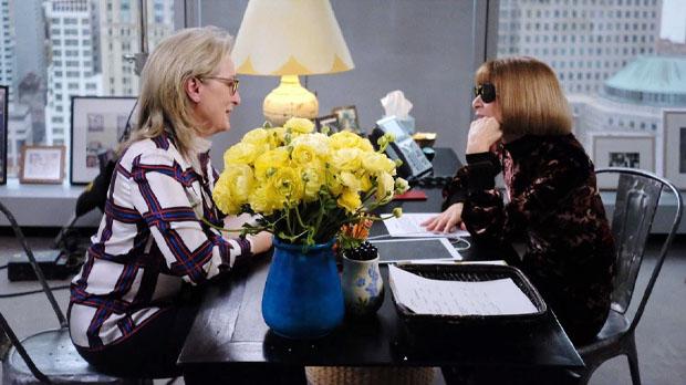 La reconocida actriz Meryl Streep fue entrevistada por nada más y nada menos que por Anna Wintour.