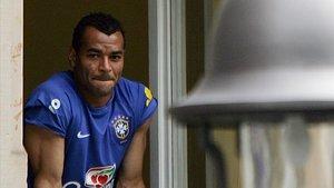 El excapitán de Brasil Cafú, en junio del 2006