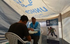 Programas de apoyo para refugiados.