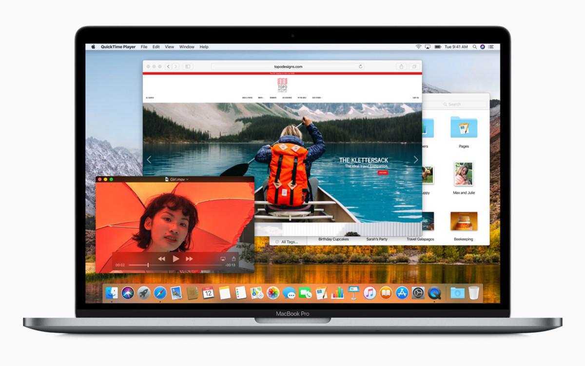 Un ordenador MacBook Pro de Apple.