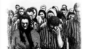 Página de Deportado 4443, del escritor y periodista Carlos Hernández y el dibujante Ioannes Ensis.