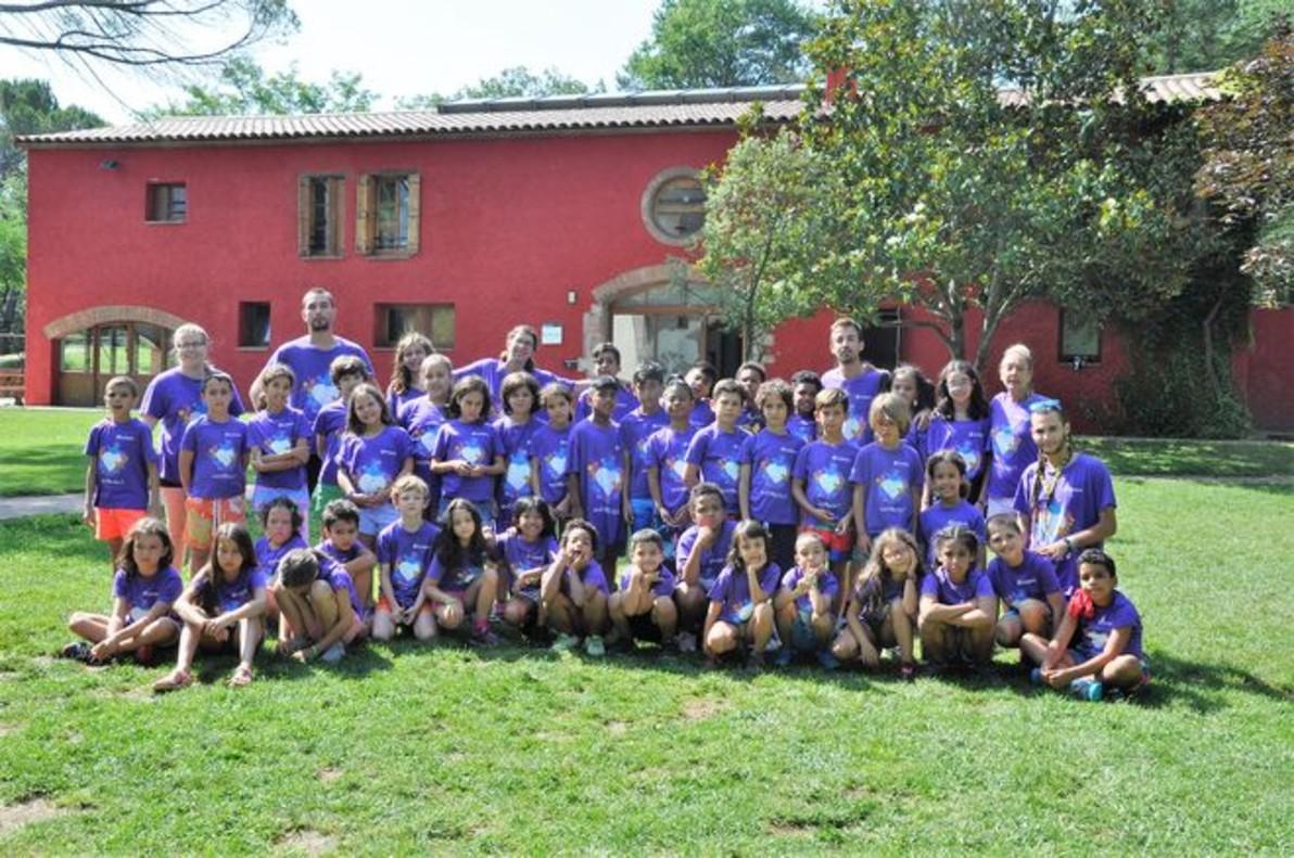 Participantes en la tercera edición de Un verano de colonias con EL PERIÓDICO.