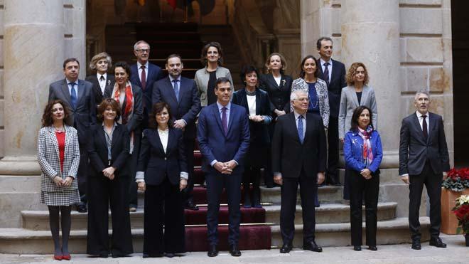 Pedro Sánchez reúne a su Consejo de Ministros en Barcelona.