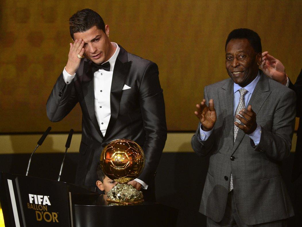 No es la primera vez que Pelé muestra su admiración por el crack portugués.