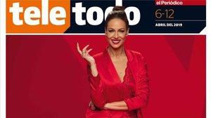 Portada del suplemento Teletodo protagonizada por Eva González.
