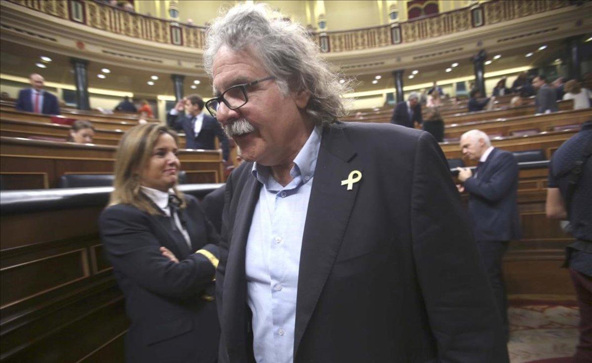 El portavoz de ERC en el Congreso, Joan Tardà.