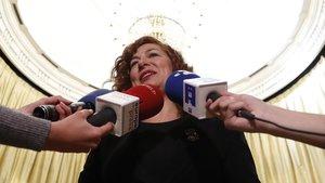 La presidenta de la SGAE, Pilar Jurado