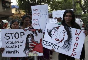 Protesta contra las violaciones en la India, en Bombay el pasado diciembre.