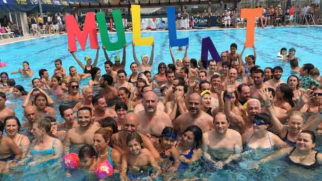 Quim Torra,participa en la campaña Mulla't per l'esclerosi múltiple.