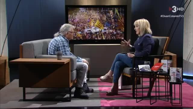 Ramón Cotarelo y Sílvia Cóppulo (TV-3).