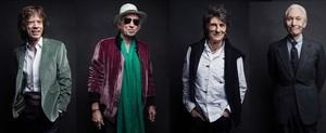 Los Stones, fotografiados en Nueva York.