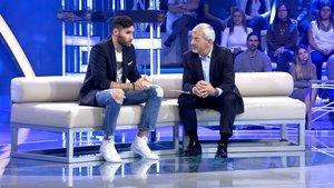 Rudy Fernández y Carlos Sobera en 'Volverte a ver'.