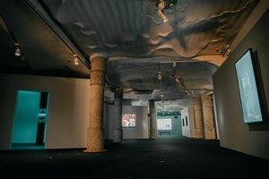 Aspecto general de la sala principal de la exposición.