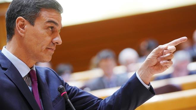 Sánchez equipara al independentismo con la derecha: Viven del conflicto