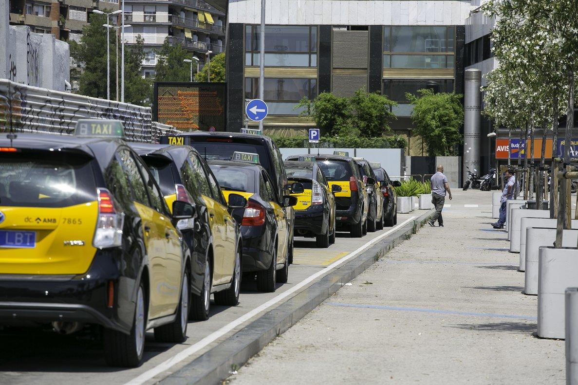 Taxis en Barcelona.