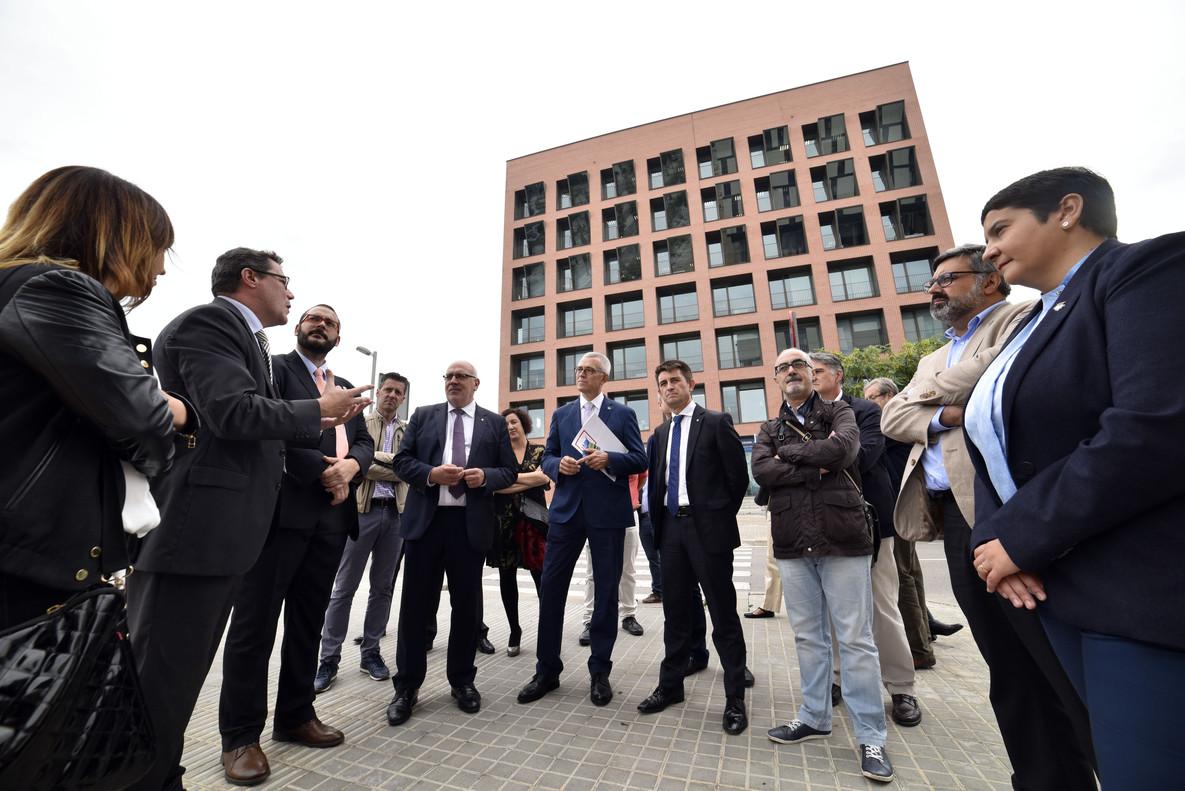 El TecnoCampus Mataró-Maresme enderroca les seves muralles originals en només sis anys
