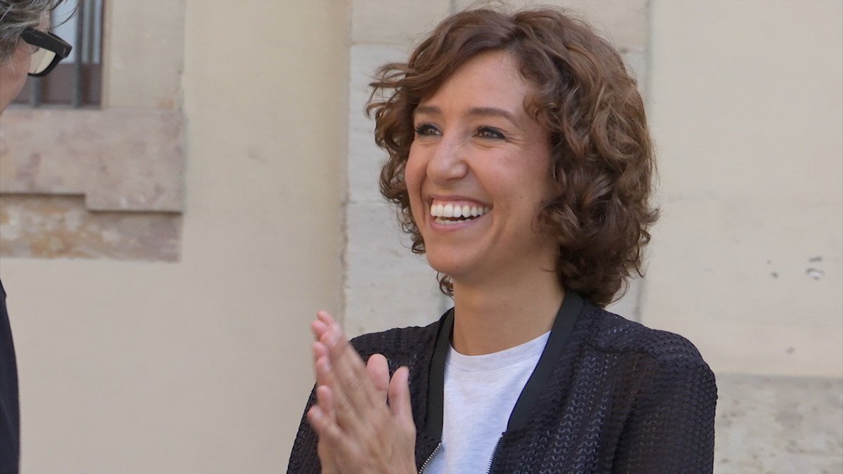 La periodista de TV-3 Agnès Marquès.