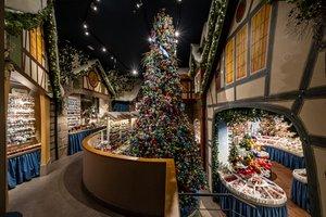Aspecto general de esta tienda dedicada a la Navidad.