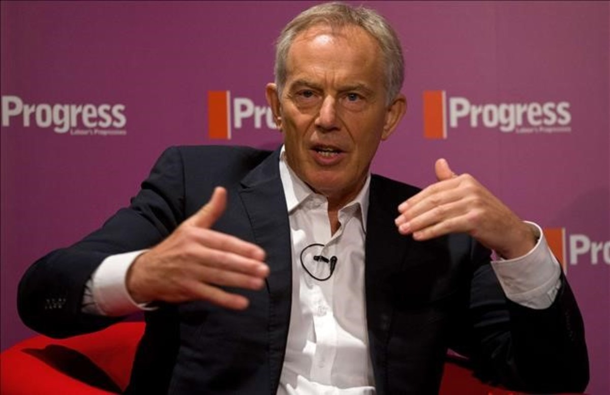 Tony Blair en un acto en Londres.