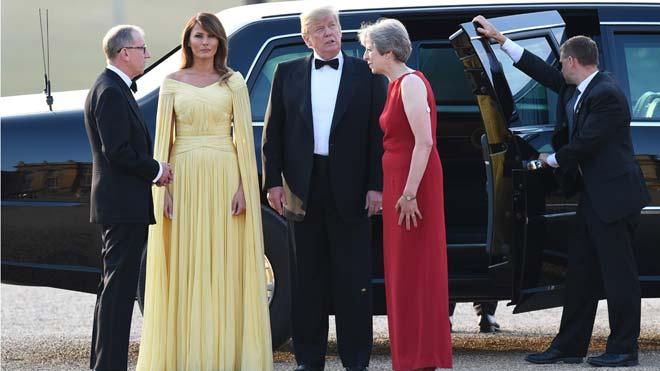 Trump diu que el 'brexit' que proposa May pot trencar l'acord comercial amb els EUA