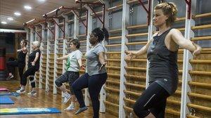 Els gimnasos s'adapten a la nova normalitat