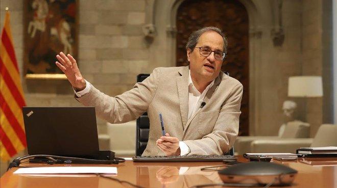 Torra demana a Lleida que desatengui la jutge i mantingui el confinament