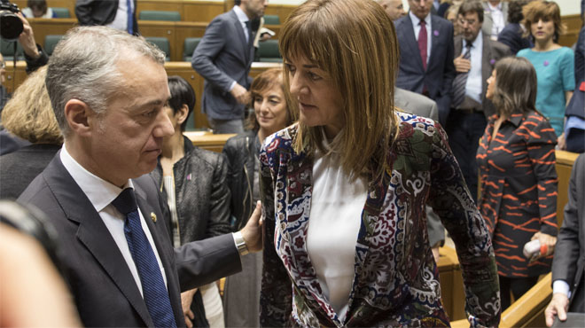 Nuestra mano está tendida para unir fuerzas al servicio de Euskadi