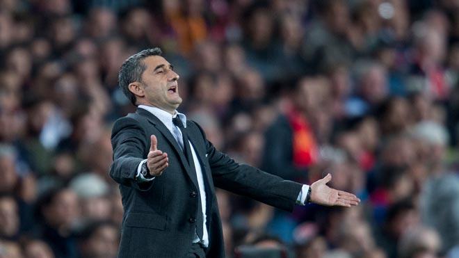 Valverde, entrenador del Barça: Es un gran resultado, pero la eliminatoria está abierta.