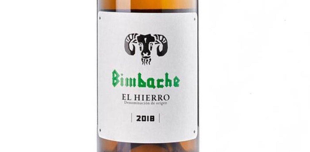 Vino Bimbache blanco 2018.