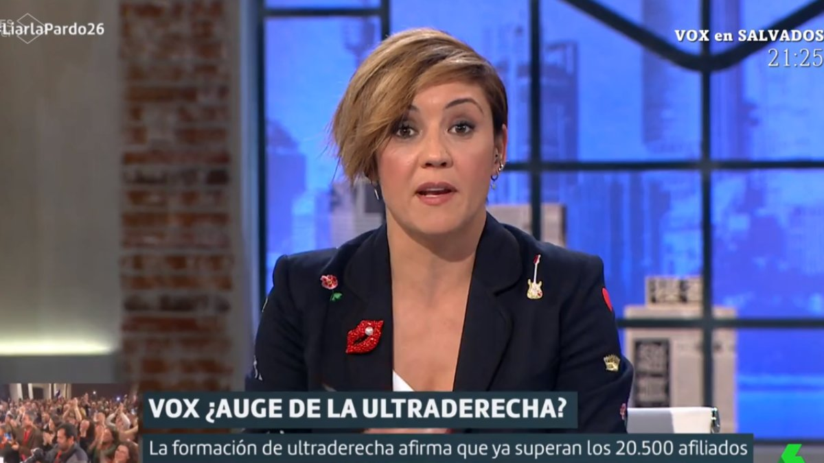 """Cristina Pardo pide disculpas por un reportaje en busca de votantes de Vox: """"Fue desafortunado"""""""