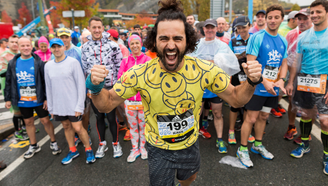 Video promocional de la nueva temporada del programa de canal #0 Maraton Man, con Raúl Gómez.