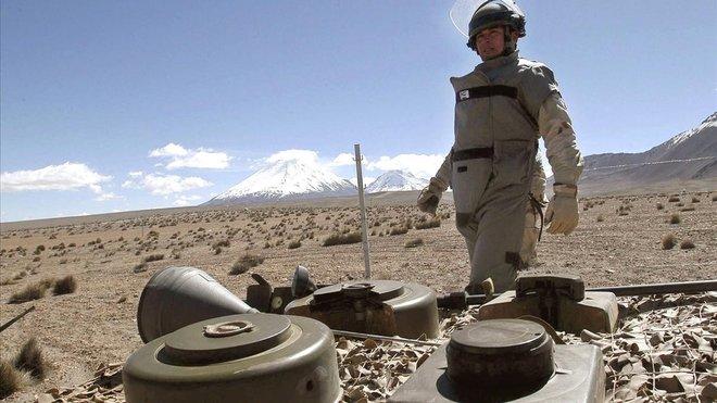 Batalla obligada contra les mines antipersones