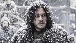El personaje Jon Snow, en Juego de tronos.