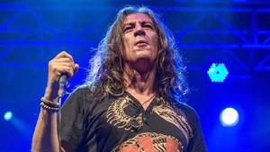 Gerard Quintana, durante una actuación con Sopa de Cabra.