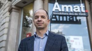 Guifrè Homedes, director general de Amat Inmobiliraris.