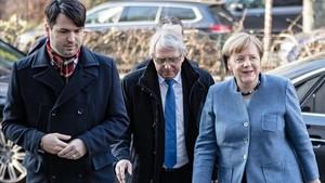 El pacte de gran coalició es fa esperar a Alemanya